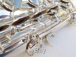 1962 Grand Selmer Mark VI Saxophone Ténor. 100% D'argent D'origine. # 103662