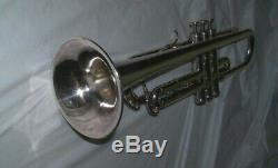 1965 Getzen Eterna Severinsen Modèle Trompette W, Protec Case- Cond Tres Bon 599 $