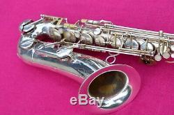 1965 Keilwerth Ton Roi Spécial, Tenor Sax, Argent, # 53k Fa #, = 1 Superba
