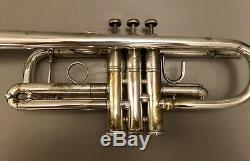 1969 Bach Early Elkhart 229 C Trompette 46xxx Grand Bore Rare