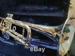 1975 Benge 5x # 16632 Avec Étui Et 3 Becs Grande Corne 1er Trigger