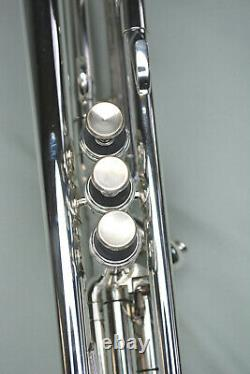 1989 Roing Silver Flair 2055t Semi-pro Bb Trumpet Near Mint Condition