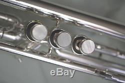 1993 Getzen Eterna 700s Semi-pro Bb Trompette Pristine À La Menthe