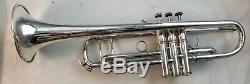 2002 Argent Plaqué Bach Stradivarius 180s43 Professional Bb Trompette