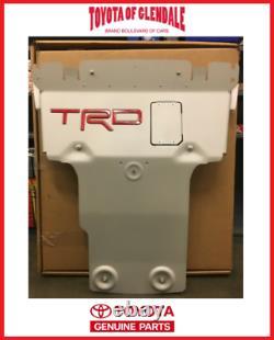 2014-2021 Toyota Tundra Trd Pro Avant Plaque À Skis Véritable Oem Nouveau Ptr60-34190