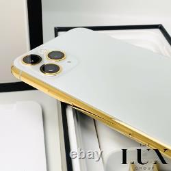 24k Iphone 11 Pro 256go Gold Plated Unlocked Brand New Unlocked Silver Cdma Gsm
