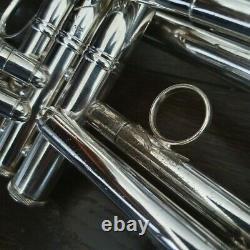 70's Bach Stradivarius MLV Vindabona 72 Corporation Cloche Trompette Gamonbrass