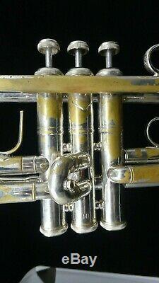 Acb Blowout! Bach Stradivarius Affaire 37 Trompette En Si Bémol, En Plaqué Argent