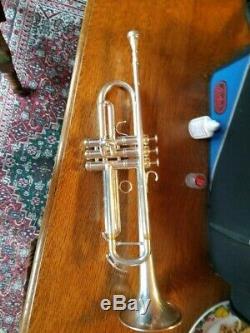 Adams Acb (austin Brass Personnalisé) Collaborative Plaqué Argent Professionnel Trompette