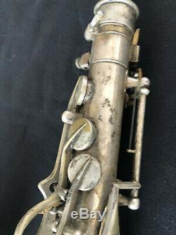 Antique François Sudre (paris) Halari Saxophone Alto (1870-1900) Avec Étui