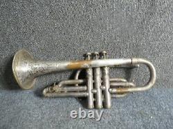 Antique Professional J. W. York & Sons Trumpet Grand Rapids, Mich