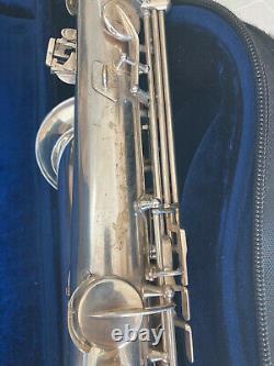 Argent Plaqué Euro Selmer Paris Mark VI Ténor Saxophone #123xxx