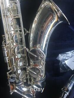 Argent Plaqué Yamaha Yts 82z II Mesure Z Tenor Saxophone V1 Cou