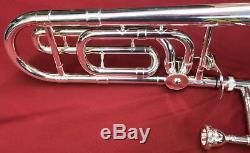 Argent Trombone Sib Avec F Pièce Jointe Design Beautiful Great Step Up