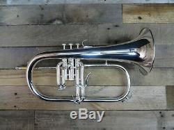 Argent Yamaha Yfh8310zs Bobby Shew Bugle Afficher Klaxon Avec Des Étiquettes Et La Boîte