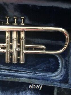 Awesome Player Vintage L Bore Holton St200 Bud Brisbois Bb Trumpet & Bach Case