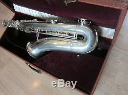 B & S Blue Label Tenore Saxophone Made In Germany Entièrement Viabilisés