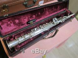 B & S Weltklang Soprano Saxophone Made In Germany Rda