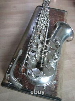 B&s Blue Label Alto Saxophone Made In Germany Rda