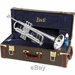 Bach 180s37 Stradivarius Series Bb Trompette Argent, Neuf Dans La Boîte! USA Concessionnaire