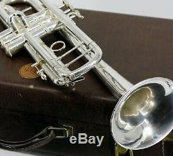 Bach 180s37 Stradivarius Series Bb Trompette Avec Étui Et Accessoires D'occasion