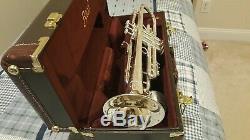 Bach 19037 Stradivarius Série 50e Anniversaire Bb Trompette 190s37 Argent