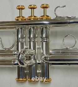 Bach 190s43 Stradivarius Centennial Professional Trumpet Display Modèle De Démonstration