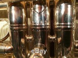 Bach C Trompette De New York 67, Grand Alésage 229, Argent # 7352