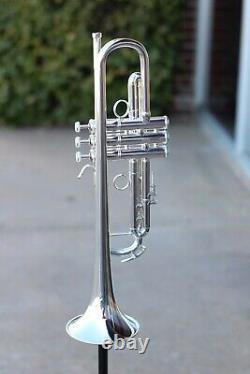 Bach Lt180s77 Stradivarius New York #7 Bb Trumpet En Argent Démo Discount