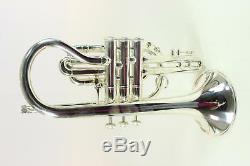 Bach Modèle Crook 184sml Shepherd Stradivarius Cornet Impeccable