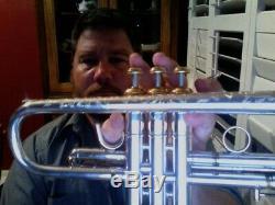 Bach Modèle Strad Trompette 37. Silver Et En Excellent État. Faire Une Offre
