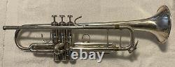 Bach Stradivarius 180 Bb Trompette 37 Argent- Sn 647828 Excellent État
