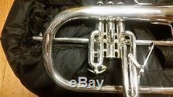 Bach Stradivarius 183s Bb Bugle En Série Silver-récent