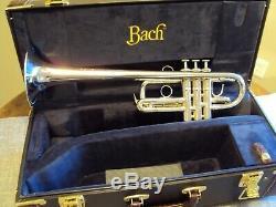 Bach Stradivarius 239 Professionnel Eb D Argent Trompette