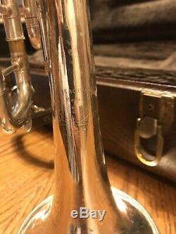 Bach Stradivarius 37 Argent Professional Trompette