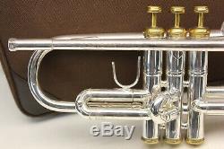 Bach Stradivarius 37 Lr Renversé Tuyau De Plomb ML Trompette D'or De Bell Professional