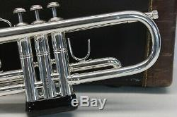 Bach Stradivarius 37 ML Trompette Argent Professionnel Très Beau Et Playing