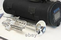 Bach Stradivarius 43 180s43 ML Trumpet Professional Customgravings Torpedobag