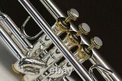 Bach Stradivarius 43 Lightweight 180s43 ML Gold Trim Trumpet Professional Horn