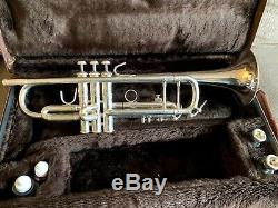 Bach Stradivarius 43 ML Trompette Cor Professional Argentée
