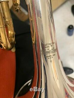 Bach Stradivarius Argent Trompette Modèle 72