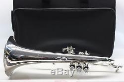 Bach Stradivarius Flugelhorn 183 Bb Pro Trompette Professionnel Argent L @@ K