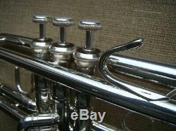 Bach Stradivarius Lr180s43, Rond Slide Tuning, Cas, Gamonbrass Trompette