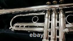 Bach Stradivarius Lt190s1b Vintage Design Silver Trompette Léger Bell Outfit
