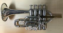 Bach Stradivarius Modèle 196 Trompette Piccolo - Blackburn Branches D'embouchures
