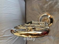Bach Stradivarius Modèle 36 Trombone Professional Argent Plaqué
