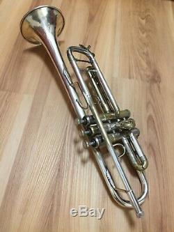 Bach Stradivarius Modèle 37 Bb Trompette Argent Plaqué