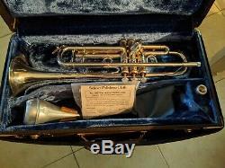 Bach Stradivarius Modèle 37 ML Argent Plaqué Trompette Avec Bach Cas Circa 1979