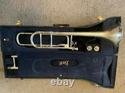 Bach Stradivarius Modèle 42bo Silver Plated Trombone