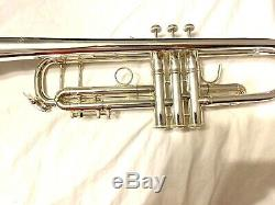 Bach Stradivarius Trompette 180 ML 37 Re-plaqué 1989 # 3266, Megaton 1 1/4